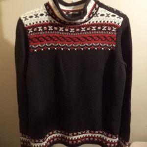 Vintage Liz Claiborne black sweater size L